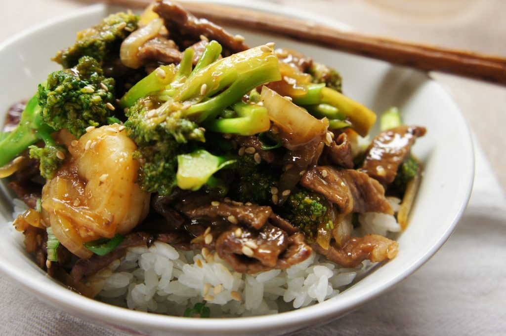 Shrimp Beef And Broccoli Stir Fry Kinda Sorta Simple