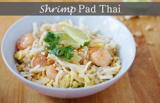 Shrimp Pad Thai - Kinda Sorta Simple