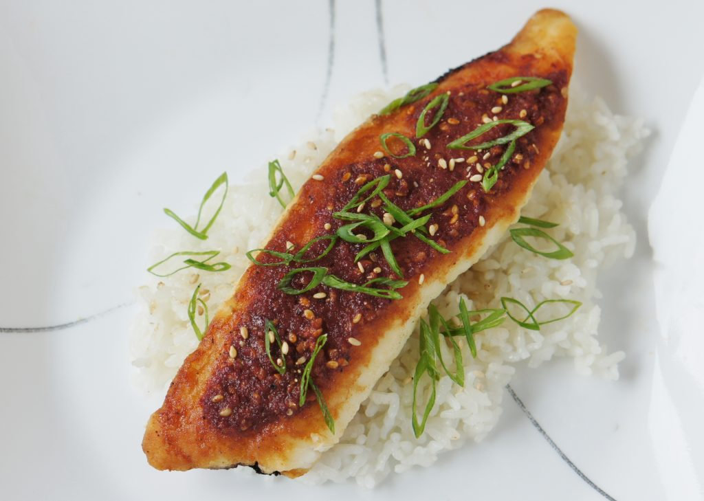 Spicy Korean Tilapia