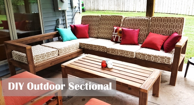 Magnificent Diy Outdoor Sectional Couch Kinda Sorta Simple Caraccident5 Cool Chair Designs And Ideas Caraccident5Info